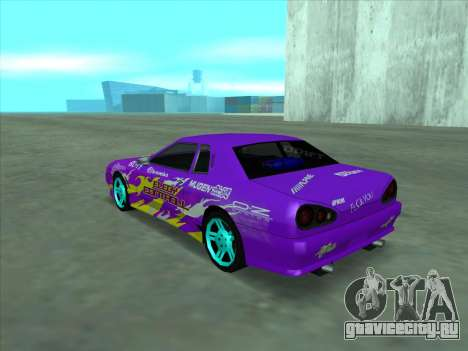 Drift elegy by KaMuKaD3e для GTA San Andreas двигатель