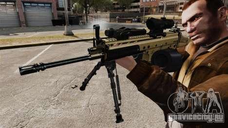 Штурмовой автомат FN SCAR-L для GTA 4 четвёртый скриншот