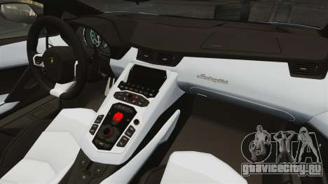 Lamborghini Aventador LP700-4 2012 EPM для GTA 4 вид сзади слева