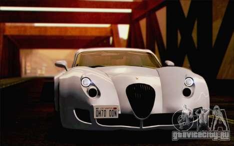 Wiesmann GT MF5 2010 для GTA San Andreas салон