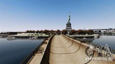 Новая дорога к острову счастья для GTA 4 второй скриншот