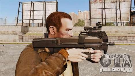 Пистолет-пулемёт FN P90 для GTA 4