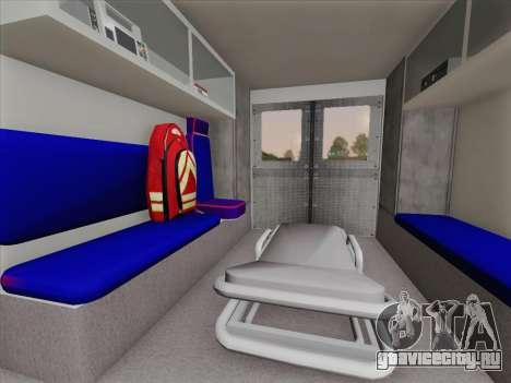 Dodge Ram Ambulance BCFD Paramedic 100 для GTA San Andreas салон