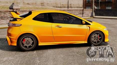 Honda Civic Type-R (FN2) для GTA 4 вид слева