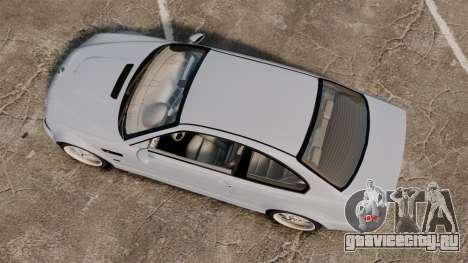 BMW M3 E46 v1.1 для GTA 4 вид справа