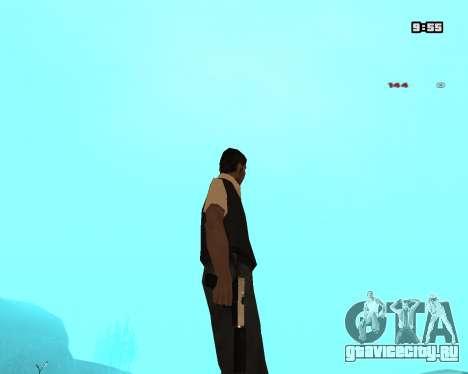 White Chrome Silenced для GTA San Andreas третий скриншот