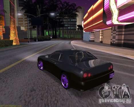 Elegy by Xtr.dor v2 для GTA San Andreas вид сзади слева