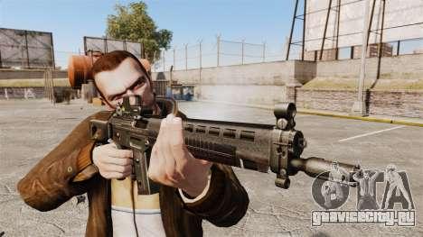 Штурмовая винтовка SIG 551 для GTA 4 третий скриншот