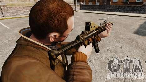 Пистолет-пулемёт MP5SD v4 для GTA 4 второй скриншот