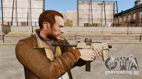 Тактический пистолет-пулемёт MP9 v4 для GTA 4