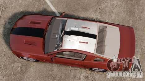 Ford Mustang Saleen SA-25 2008 для GTA 4 вид справа