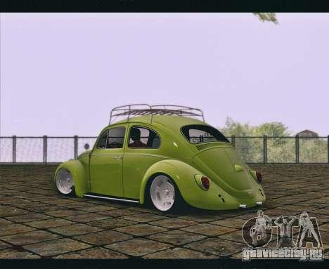 Volkswagen Beetle 1966 для GTA San Andreas вид слева