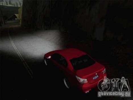 Ближний и дальний свет фар для GTA San Andreas второй скриншот