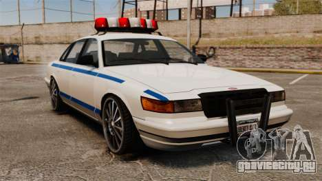 Police на 20-ти  дюймовых дисках для GTA 4