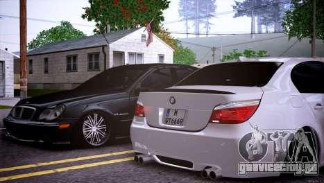 Mercedes-Benz C32 AMG для GTA San Andreas вид сбоку