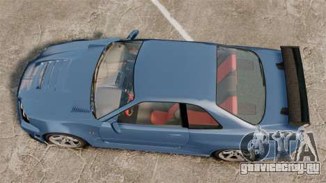 Nissan Skyline R34 GT-R Z-tune для GTA 4 вид справа