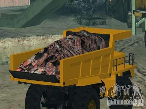 Новый Dumper для GTA San Andreas колёса
