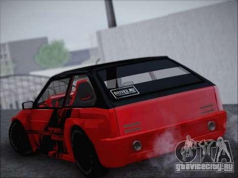ВАЗ 21093 Devil для GTA San Andreas вид слева