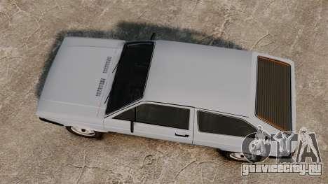 Volkswagen Gol LS 1986 для GTA 4 вид справа
