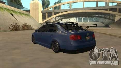 Volkswagen Bora GTI 2011 v1 для GTA San Andreas вид сзади