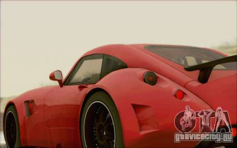 Wiesmann GT MF5 2010 для GTA San Andreas вид сзади
