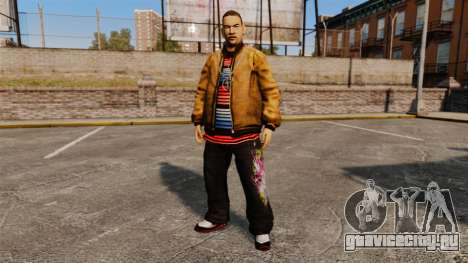 Пед Domdrug из TBoGT для GTA 4 пятый скриншот