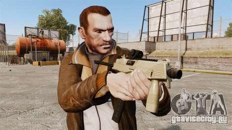 Тактический пистолет-пулемёт MP9 v4 для GTA 4 третий скриншот