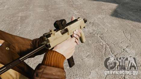 Тактический пистолет-пулемёт MP9 v4 для GTA 4 второй скриншот
