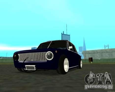 ВАЗ 2101 Baby v3 для GTA San Andreas вид снизу
