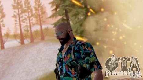 Max Payne 3 для GTA San Andreas третий скриншот