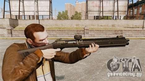 Самозарядное ружьё XM1014 Full Covered для GTA 4