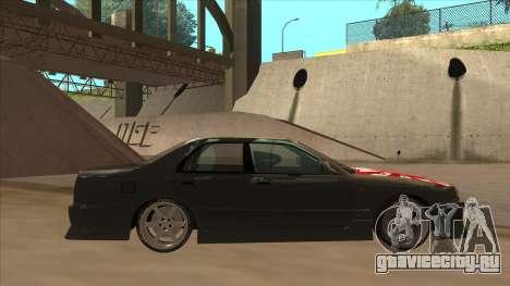 Nissan Skyline ER34 Street Style для GTA San Andreas вид сзади слева