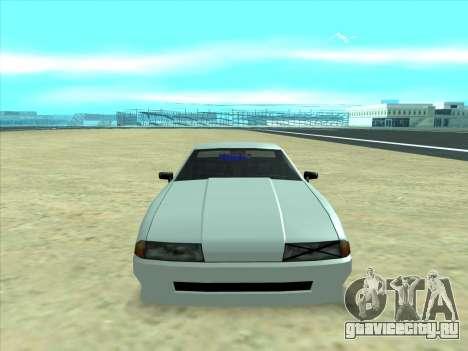 Drift elegy by KaMuKaD3e для GTA San Andreas вид справа