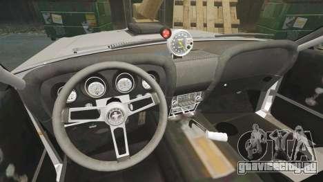 Ford Mustang Mach 1 Twister Special для GTA 4 вид изнутри