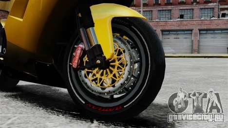 Ducati 848 для GTA 4 вид справа