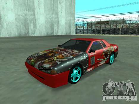 Drift elegy by KaMuKaD3e для GTA San Andreas вид сбоку