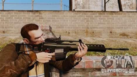 Штурмовая винтовка H&K MG36 v4 для GTA 4