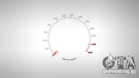 Спидометр AdamiX v4 для GTA 4