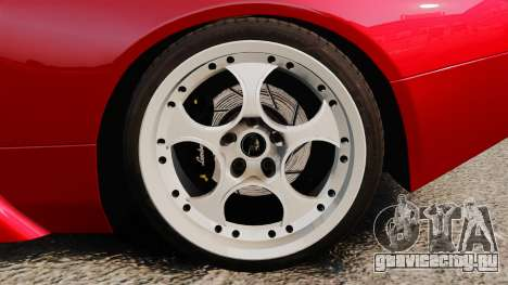 Lamborghini Murcielago 2005 для GTA 4 вид сзади