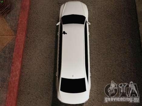Аudi A8 Лимузин для GTA San Andreas вид сверху