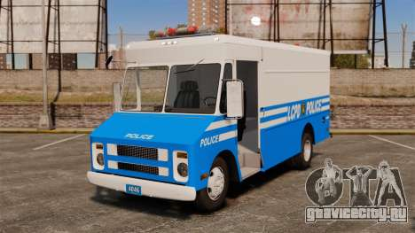 Chevrolet Step-Van 1985 LCPD для GTA 4