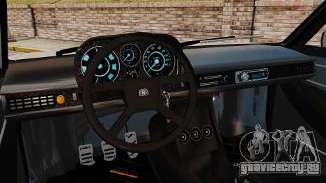 Volkswagen Passat TS 1981 для GTA 4 вид изнутри