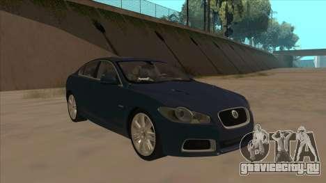 Jaguar XFR 2010 v1.0 для GTA San Andreas вид слева