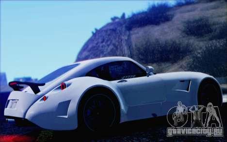 Wiesmann GT MF5 2010 для GTA San Andreas вид сбоку