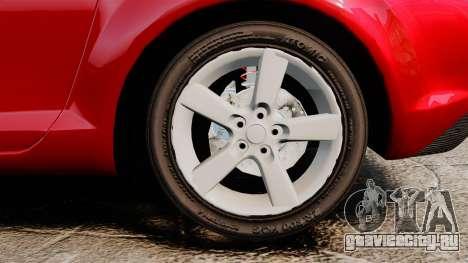 Mazda RX-8 Light Tuning для GTA 4 вид сзади