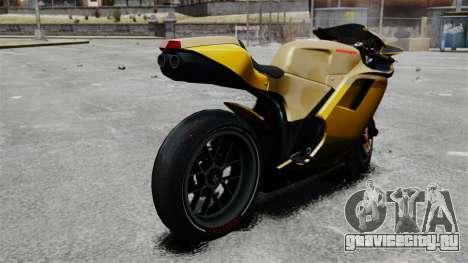 Ducati 848 для GTA 4 вид слева