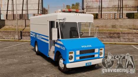 Chevrolet Step-Van 1985 NYPD для GTA 4
