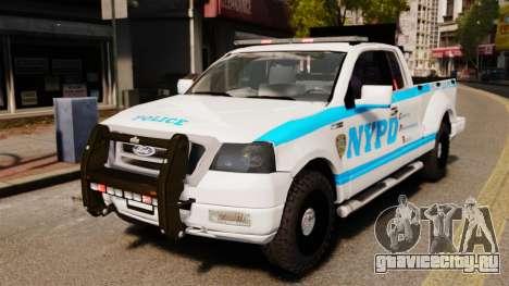 Ford F-150 v3.3 NYPD [ELS & EPM] v3 для GTA 4
