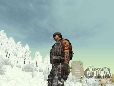 Спецназовец для GTA San Andreas восьмой скриншот