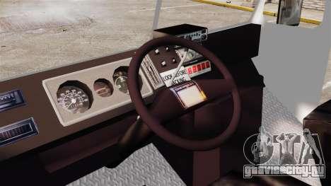Chevrolet Step-Van 1985 NYPD для GTA 4 вид сзади